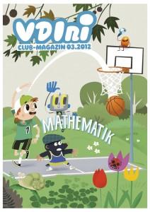 vdini-club-magazin III/12 mathematik Titel